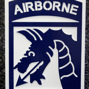 18th Airborne Hitch Cover